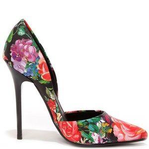 Steve Madden Varcitty Floral D'Orsay Pump 6